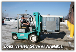 Load Transfer Services Available